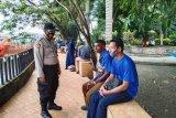 Polisi pelabuhan Jayapura patroli edukasi warga protokol kesehatan