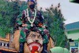 Santri yang tentara ini selalu berpegang nilai-nilai KHR As'ad