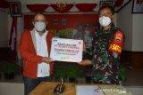 Dukung Program TMMD ke-110, Korem 032/Wirabraja Apresiasi PT Semen Padang