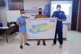 Tim gabungan DKP NTT gelar pemantauan kesehatan terumbu karang SAP Alor