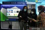 Sumsel hadirkan pojok baca digital di Bandara SMB II Palembang