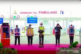 Presiden Joko Widodo resmikan 2 tol JORR akses baru ke bandara Soekarno Hatta