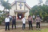 Polri dan TNI amankan tempat ibadah saat Jumat Agung