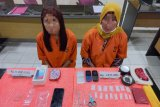 Waduh, dua wanita di Inhil jadi pengedar sabu