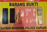 Polisi tangkap pasangan sejoli di Kapuas edarkan sabu-sabu