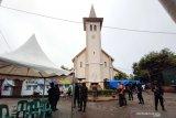 Ibadah Jumat Agung di Kota Makassar berlangsung kondusif