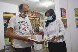 54 karya seni berukuran mini dipamerkan di Yogyakarta