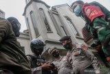 Aparat gabungan di NTB menggelar patroli skala besar antisipasi aksi teror