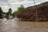 Banjir di Malaka akibat intensitas curah hujan tinggi