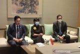 Erick Thohir kunjungi Tiongkok bahas kemitraan pembangunan 'EV Battery'
