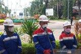 Menteri ESDM pastikan api Kilang Pertamina Balongan sudah padam