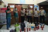 Operasi Pekat Polsek Sakti, empat penjual miras di Lombok Timur diringkus