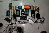 Polres Minahasa Utara ringkus pelaku Curanmor- alat elektronik