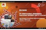 Pertamina Cilacap raih penghargaan Public Relation Indonesia Award 2021