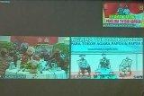 Pangdam XVII/Cenderawasih ikuti tatap muka secara virtual dengan Panglima TNI