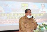 Bupati Padang Pariaman ajak masyarakat manfaatkan layanan ini, dalam membantu pemulihan perekonomian