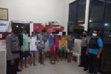Polres Lampung Timur tangkap tujuh pelaku pencurian dengan kekerasan