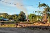 Pertamina sudah mengatasi semburan lumpur dari sumur minyak di Tarakan
