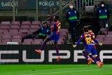 Belum ada kabar kontrak teranyar, Dembele yakin tetap bersama Barcelona