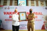 Festival vaksinasi COVID-19 di Makassar catat rekor terbanyak di Indonesia