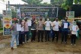 Polsek Sekotong fasilitasi vaksinasi tokoh agama di Kecamatan Sekotong