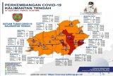 11 kabupaten di Kalteng zona oranye dan tiga lainnya zona merah
