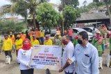 Pemkot Bandarlampung salurkan paket sembako bantuan dari PT Bukit Asam untuk petugas kebersihan