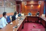 Pemprov Sultra dan PWI tindak lanjut penetapan tuan rumah HPN 2022