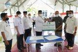 Pemkab Lampung Tengah terima bantuan alat PCR dari PT GGP