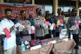 Sembilan tersangka narkoba selama operasi Antik di Batang dibekuk