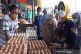 TPID Sultra pantau harga pangan di sejumlah pasar menjelang Ramadhan