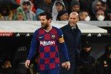 Zidane ingin selalu ada Messi di El Clasico