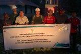 Bangun jaringan 16,14 Km,PLN Sumbar hadirkan listrik di Dusun Kepulauan Mentawai