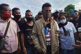 Jackson dan jaket pemberian Presiden Jokowi