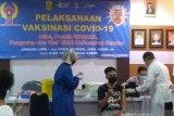 Ratusan atlet Kalsel untuk ke PON XX Papua jalani vaksin COVID-19