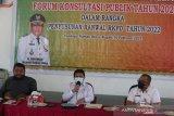 Pemkab Rohul susun RKPD 2022, fokus pada kemiskinan