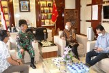 Pangdam XVII/Cenderawasih terima kunjungan Direktur pemberitaan Tribunnews