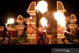 Dispar Lombok Barat berkolaborasi dengan hotel menggelar atraksi tari