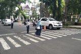Dishub Mataram melakukan rekayasa lalu lintas selama Ramadhan