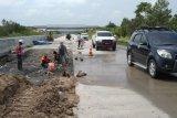 Pengendara dihimbau waspadai perbaikan jalan tol ruas Bakauheni-Terbanggi Besar