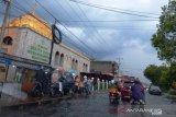 Kemarin, sekitaran Jam Gadang Bukittinggi terendam banjir
