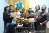 Dua kurir bawa 20 paket besar ganja kering ditangkap di jalinsum Medan-Bukittinggi