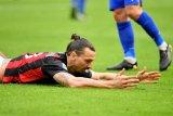 Cedera Ibrahimovic jadi kekhawatiran AC Milan jelang laga kontra Sassuolo