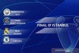 Empat besar Liga Champions : Bangsawan Eropa Real Madrid dikelilingi klub-klub OKB