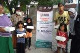 ACT NTB mendistribusikan ratusan paket berbuka puasa untuk dhuafa