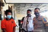 Pria ini ditangkap Polres Gumas setelah empat tahun jadi target