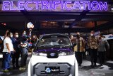 Pembukaan pameran Indonesia International Motor Show Hybrid 2021 1