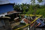 Polisi sterilkan salah satu rumah terduga teroris di Makassar