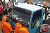 Polisi amankan derek liar diduga digunakan untuk melakukan pemerasan