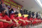 Operasi antinarkoba, Polrestabes Semarang tangkap puluhan tersangka